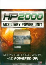 HP2000 Auxiliary power unit